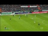Чемпионат Германии 2013-14 / 20-й тур / Вердер - Боруссия (Дортмунд) / 1 тайм