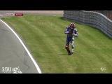 MotoGP 2013 Sachsenring Free Practice 2 Crashes HD / MotoGP 2013 Заксенринг Свободная Практика 2 Падения HD